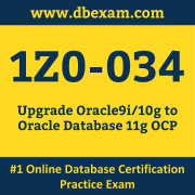 1Z0-034 Dumps, 1Z0-034 Exam Dumps Free, 1Z0-034 Questions and Answers PDF Free Download, Oracle 1Z0-034 Dumps Free Download, 1Z0-034 PDF Dumps, 1Z0-034 Braindumps
