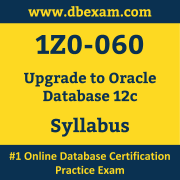 1Z0-060 Syllabus, 1Z0-060 Latest Dumps PDF, Oracle Upgrade Database Dumps, 1Z0-060 Free Download PDF Dumps, Upgrade Database Dumps