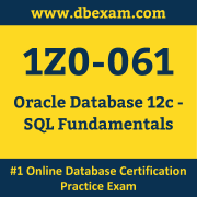 1Z0-061 Dumps, 1Z0-061 Exam Dumps Free, 1Z0-061 Questions and Answers PDF Free Download, Oracle 1Z0-061 Dumps Free Download, 1Z0-061 PDF Dumps, 1Z0-061 Braindumps
