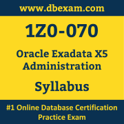 1Z0-070 Syllabus, 1Z0-070 Latest Dumps PDF, Oracle Exadata Administration Dumps, 1Z0-070 Free Download PDF Dumps, Exadata Administration Dumps