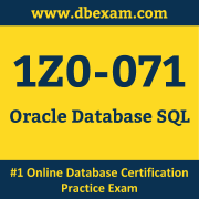 1Z0-071 Dumps, 1Z0-071 Exam Dumps Free, 1Z0-071 Questions and Answers PDF Free Download, Oracle 1Z0-071 Dumps Free Download, 1Z0-071 PDF Dumps, 1Z0-071 Braindumps