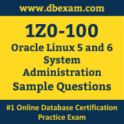 1Z0-100 PDF, 1Z0-100 Dumps PDF Free Download, 1Z0-100 Latest Dumps Free PDF, Linux System Administration PDF Dumps