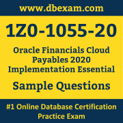 1Z0-1055-20 PDF, 1Z0-1055-20 Dumps PDF Free Download, 1Z0-1055-20 Latest Dumps Free PDF, Financials Cloud Payables Implementation Essential PDF Dumps