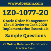 1Z0-1077-20 PDF, 1Z0-1077-20 Dumps PDF Free Download, 1Z0-1077-20 Latest Dumps Free PDF, Order Management Cloud Order to Cash Implementation Essentials PDF Dumps