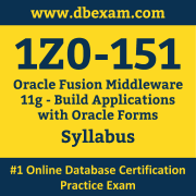1Z0-151 Syllabus, 1Z0-151 Dumps PDF, Oracle OCP Dumps, 1Z0-151 Dumps Free Download PDF, Middleware Development Tools OCP Dumps, 1Z0-151 Latest Dumps Free Download