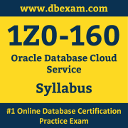 1Z0-160 Syllabus, 1Z0-160 Dumps PDF, Oracle OCA Dumps, 1Z0-160 Dumps Free Download PDF, Platform as a Service (PaaS) OCA Dumps, 1Z0-160 Latest Dumps Free Download
