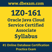 1Z0-161 Syllabus, 1Z0-161 Dumps PDF, Oracle OCA Dumps, 1Z0-161 Dumps Free Download PDF, Oracle Java Cloud Service instance 12.1.3.0 and Oracle WebLogic Server 12.1.3.0 OCA Dumps, 1Z0-161 Latest Dumps Free Download