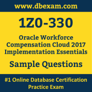 1Z0-330 PDF, 1Z0-330 Dumps PDF Free Download, 1Z0-330 Latest Dumps Free PDF, Workforce Compensation Cloud Implementation Essentials PDF Dumps