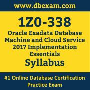 1Z0-338 Syllabus, 1Z0-338 Latest Dumps PDF, Oracle Exadata Database Machine and Cloud Service Implementation Essentials Dumps, 1Z0-338 Free Download PDF Dumps, Exadata Database Machine and Cloud Service Implementation Essentials Dumps