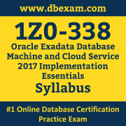1Z0-338 Syllabus, 1Z0-338 Dumps PDF, Oracle OCS Dumps, 1Z0-338 Dumps Free Download PDF, Oracle Exadata Database Machine X6 OCS Dumps, 1Z0-338 Latest Dumps Free Download