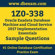 1Z0-338 PDF, 1Z0-338 Dumps PDF Free Download, 1Z0-338 Latest Dumps Free PDF, Exadata Database Machine and Cloud Service Implementation Essentials PDF Dumps