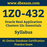 1Z0-432 Syllabus, 1Z0-432 Dumps PDF, Oracle OCS Dumps, 1Z0-432 Dumps Free Download PDF, Oracle Database OCS Dumps, 1Z0-432 Latest Dumps Free Download