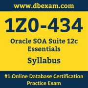 1Z0-434 Syllabus, 1Z0-434 Dumps PDF, Oracle OCS Dumps, 1Z0-434 Dumps Free Download PDF, SOA Suite OCS Dumps, 1Z0-434 Latest Dumps Free Download