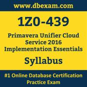 1Z0-439 Syllabus, 1Z0-439 Latest Dumps PDF, Oracle Primavera Unifier Cloud Service Implementation Essentials Dumps, 1Z0-439 Free Download PDF Dumps, Primavera Unifier Cloud Service Implementation Essentials Dumps