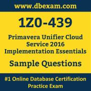 1Z0-439 PDF, 1Z0-439 Dumps PDF Free Download, 1Z0-439 Latest Dumps Free PDF, Primavera Unifier Cloud Service Implementation Essentials PDF Dumps