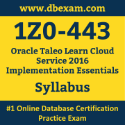 1Z0-443 Syllabus, 1Z0-443 Dumps PDF, Oracle OCS Dumps, 1Z0-443 Dumps Free Download PDF, Oracle Taleo Release 15A OCS Dumps, 1Z0-443 Latest Dumps Free Download