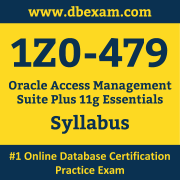 1Z0-479 Syllabus, 1Z0-479 Dumps PDF, Oracle OCS Dumps, 1Z0-479 Dumps Free Download PDF, Identity Management OCS Dumps, 1Z0-479 Latest Dumps Free Download