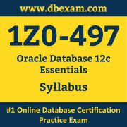 1Z0-497 Syllabus, 1Z0-497 Dumps PDF, Oracle OCS Dumps, 1Z0-497 Dumps Free Download PDF, Oracle Database 12c OCS Dumps, 1Z0-497 Latest Dumps Free Download