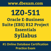 1Z0-511 Syllabus, 1Z0-511 Latest Dumps PDF, Oracle E-Business Suite (EBS) Project Essentials Dumps, 1Z0-511 Free Download PDF Dumps, E-Business Suite (EBS) Project Essentials Dumps