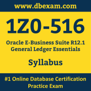1Z0-516 Syllabus, 1Z0-516 Dumps PDF, Oracle OCS Dumps, 1Z0-516 Dumps Free Download PDF, E-Business Suite OCS Dumps, 1Z0-516 Latest Dumps Free Download