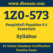 1Z0-573 Syllabus, 1Z0-573 Dumps PDF, Oracle OCS Dumps, 1Z0-573 Dumps Free Download PDF, PeopleSoft OCS Dumps, 1Z0-573 Latest Dumps Free Download