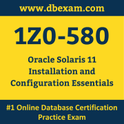 1Z0-580 Dumps, 1Z0-580 Exam Dumps Free, 1Z0-580 Questions and Answers PDF Free Download, Oracle 1Z0-580 Dumps Free Download, 1Z0-580 PDF Dumps, 1Z0-580 Braindumps