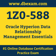 Oracle 1Z0-588 Certification Online Practice Exam and Sample
