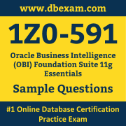 Free Oracle 1Z0-591 Certification Sample Questions and