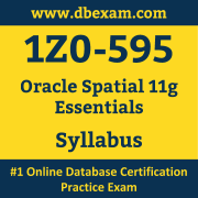 1Z0-595 Syllabus, 1Z0-595 Dumps PDF, Oracle OCS Dumps, 1Z0-595 Dumps Free Download PDF, Oracle Spatial 11g R2 OCS Dumps, 1Z0-595 Latest Dumps Free Download