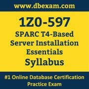 1Z0-597 Syllabus, 1Z0-597 Latest Dumps PDF, Oracle SPARC Server Installation Essentials Dumps, 1Z0-597 Free Download PDF Dumps, SPARC Server Installation Essentials Dumps