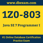 1Z0-803 Dumps, 1Z0-803 Exam Dumps Free, 1Z0-803 Questions and Answers PDF Free Download, Oracle 1Z0-803 Dumps Free Download, 1Z0-803 PDF Dumps, 1Z0-803 Braindumps