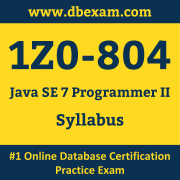 1Z0-804 Syllabus, 1Z0-804 Dumps PDF, Oracle OCP Dumps, 1Z0-804 Dumps Free Download PDF, Java OCP Dumps, 1Z0-804 Latest Dumps Free Download