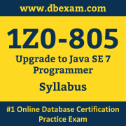 1Z0-805 Syllabus, 1Z0-805 Dumps PDF, Oracle OCP Dumps, 1Z0-805 Dumps Free Download PDF, Java OCP Dumps, 1Z0-805 Latest Dumps Free Download