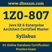 1Z0-807 Syllabus, 1Z0-807 Dumps PDF, Oracle OCA Dumps, 1Z0-807 Dumps Free Download PDF, Java EE OCA Dumps, 1Z0-807 Latest Dumps Free Download