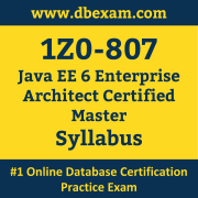 1Z0-807 Syllabus, 1Z0-807 Latest Dumps PDF, Oracle Java EE Enterprise Architect Dumps, 1Z0-807 Free Download PDF Dumps, Java EE Enterprise Architect Dumps