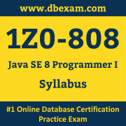 1Z0-808 Syllabus, 1Z0-808 Dumps PDF, Oracle OCA Dumps, 1Z0-808 Dumps Free Download PDF, Java OCA Dumps, 1Z0-808 Latest Dumps Free Download
