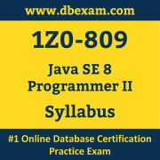 1Z0-809 Syllabus, 1Z0-809 Latest Dumps PDF, Oracle Java SE Programmer II Dumps, 1Z0-809 Free Download PDF Dumps, Java SE Programmer II Dumps