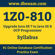 1Z0-810 Syllabus, 1Z0-810 Dumps PDF, Oracle OCP Dumps, 1Z0-810 Dumps Free Download PDF, Java OCP Dumps, 1Z0-810 Latest Dumps Free Download