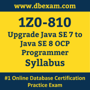 1Z0-810 Syllabus, 1Z0-810 Latest Dumps PDF, Oracle Upgrade Java SE Programmer Dumps, 1Z0-810 Free Download PDF Dumps, Upgrade Java SE Programmer Dumps