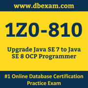 1Z0-810 Dumps, 1Z0-810 Exam Dumps Free, 1Z0-810 Questions and Answers PDF Free Download, Oracle 1Z0-810 Dumps Free Download, 1Z0-810 PDF Dumps, 1Z0-810 Braindumps