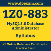 1Z0-883 Syllabus, 1Z0-883 Dumps PDF, Oracle OCP Dumps, 1Z0-883 Dumps Free Download PDF, MySQL OCP Dumps, 1Z0-883 Latest Dumps Free Download