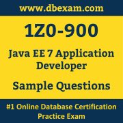 1Z0-900 PDF, 1Z0-900 Dumps PDF Free Download, 1Z0-900 Latest Dumps Free PDF, Java EE Application Developer PDF Dumps