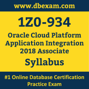 1Z0-934 Syllabus, 1Z0-934 Dumps PDF, Oracle OCA Dumps, 1Z0-934 Dumps Free Download PDF, Oracle Cloud Platform OCA Dumps, 1Z0-934 Latest Dumps Free Download