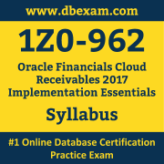 1Z0-962 Syllabus, 1Z0-962 Dumps PDF, Oracle OCS Dumps, 1Z0-962 Dumps Free Download PDF, Oracle Fusion Receivables R12 OCS Dumps, 1Z0-962 Latest Dumps Free Download