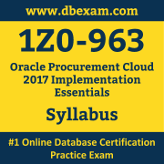 1Z0-963 Syllabus, 1Z0-963 Dumps PDF, Oracle OCS Dumps, 1Z0-963 Dumps Free Download PDF, Oracle Fusion Procurement Cloud Service R12 OCS Dumps, 1Z0-963 Latest Dumps Free Download
