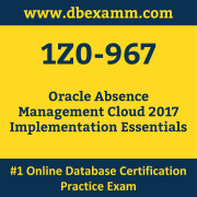 1Z0-967 Dumps, 1Z0-967 Exam Dumps Free, 1Z0-967 Questions and Answers PDF Free Download, Oracle 1Z0-967 Dumps Free Download, 1Z0-967 PDF Dumps, 1Z0-967 Braindumps