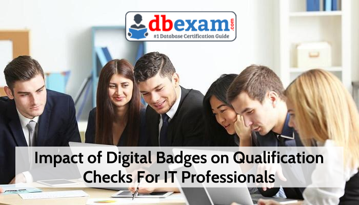 Digital Badges for validation checks