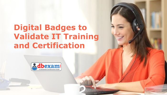 Oracle digital badges