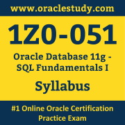 1Z0-051 Syllabus, 1Z0-051 Dumps PDF, Oracle OCA Dumps, 1Z0-051 Dumps Free Download PDF, Oracle Database OCA Dumps, 1Z0-051 Latest Dumps Free Download