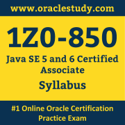 1Z0-850 Syllabus, 1Z0-850 Dumps PDF, Oracle OCA Dumps, 1Z0-850 Dumps Free Download PDF, Java OCA Dumps, 1Z0-850 Latest Dumps Free Download
